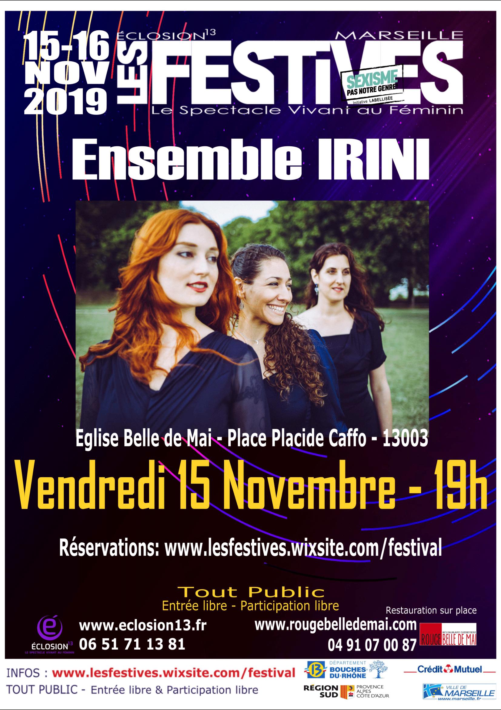 Les Festives la Prog' #3   Concert Ensemble Irini